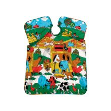 Comair Umhang Kinder Animal Farm Nylon m.Band 90x 125 cm
