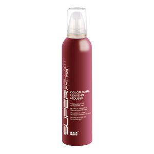 Super Brillant Color Care Leave in Pflege Mousse 250ml Farbpflege-Schaum